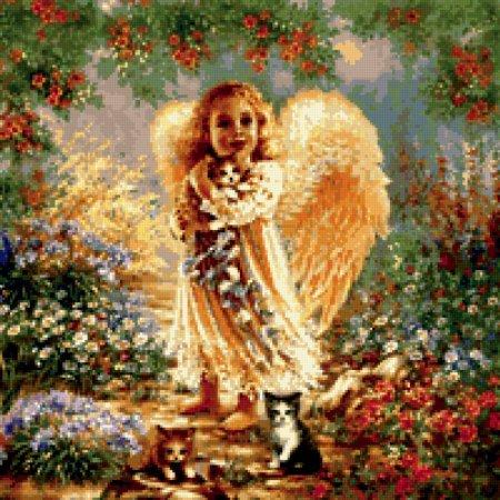 Алмазная вышивка ангелы