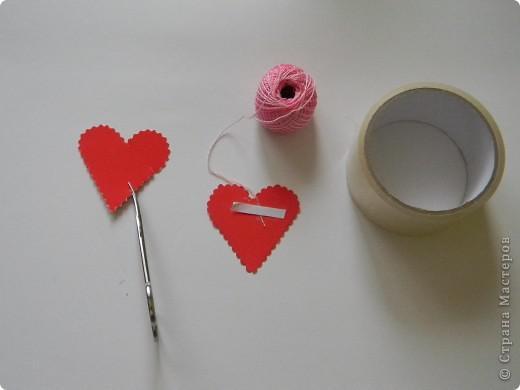 Делаем сердце в технике изонить без использования иголки