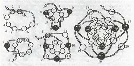 Мозаичный жгут из бисера